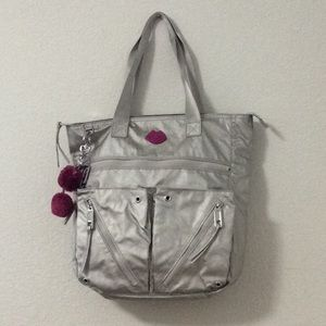 Juicy Couture Kohl's Metallic silver tote